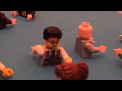 Lego Mr Bean At The Pool Youtube