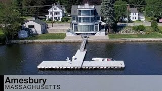video of 381 main street   amesbury massachusetts waterfront real estate homes
