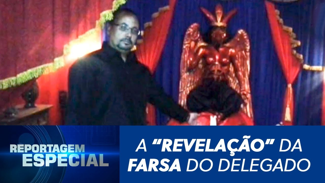 """Download """"Bruxo"""" foi preso e acusado de matar crianças para fazer ritual satânico - SBT Rio Grande - 20/08/19"""