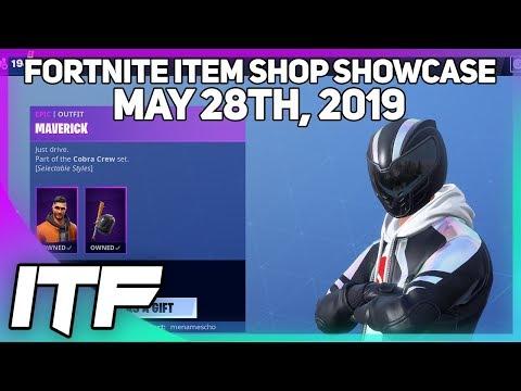 Fortnite Item Shop SHADE AND MAVERICK ARE BACK! [May 28th, 2019] (Fortnite Battle Royale)