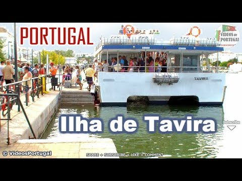 PRAIA DA ILHA DE TAVIRA ALGARVE - Portugal travel tour