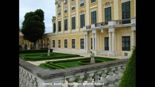 Europe Travel (part 5 of 5) Vienna-Austria, Salzburg-Austria, Slovakia