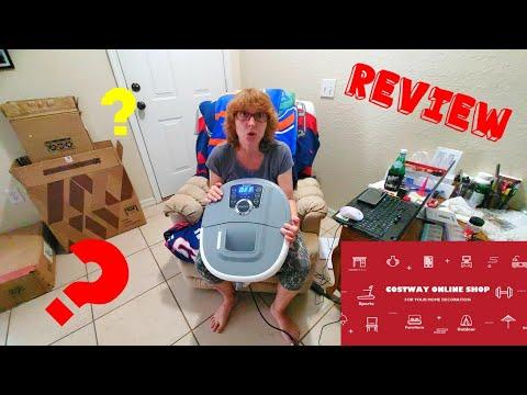 Portable Electric Foot Spa Bath Shiatsu Roller Motorized Massager 👍