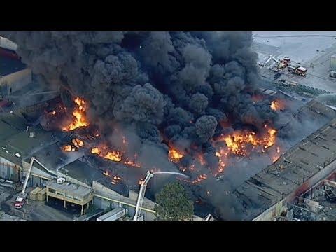 HUGE Fire in Melbourne - Vlog 283