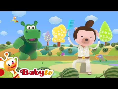 Down By the Bay 🤣🤣 (Remastered with Lyrics) | Nursery Rhymes & Songs for Kids | BabyTV