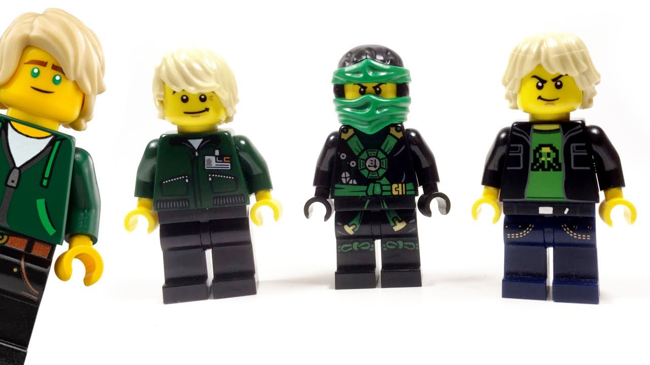 Lego ninjago movie custom lloyd garmadon minifigure 123vid - Lego ninjago d or ...