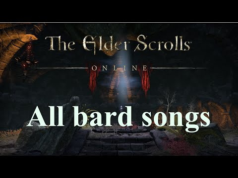 The Elder Scrolls Online: All Bard Songs with Lyrics
