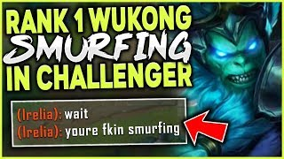 Download #1 WUKONG WORLD MAKES CHALLENGER LOOK LIKE A JOKE! S9 WUKONG TOP GAMEPLAY! - League of Legends Mp3 and Videos