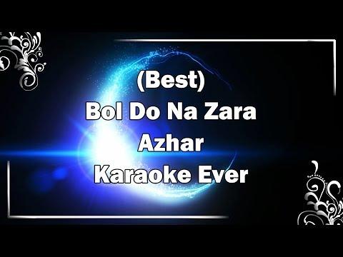 Bol Do Na Zara Karaoke With Lyrics + MP3 Download | Armaan Malik | Azhar | Fire Universal