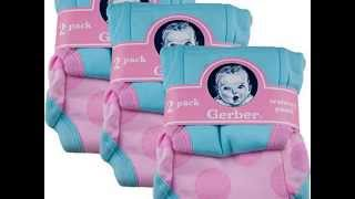 New Gerber Training Pants 3T Girl 6 pack 32-35 pounds 2012 Product images