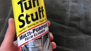 "Does ""Tuff Stuff"" foaming cloth cleaner actually work?"