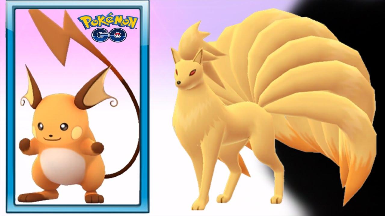 Ninetales & Pikachu (Raichu) Evolution Completed - Pokemon Go ...