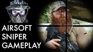 Airsoft Sniper Gameplay - Scopecam - Novritsch SSG24