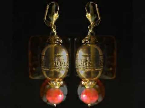 raphacreation com Boucles d'oreilles, bijoux fantaisie · Earrings, fantasy jewelry