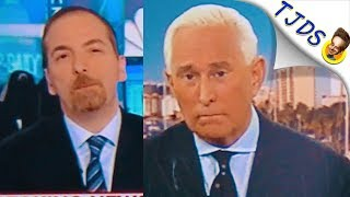 Alleged Wikileaks Source Corrects Chuck Todd & Roger Stone