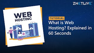 What is Web Hosting? Explained in 60 Seconds