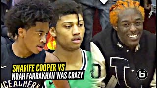 Sharife Cooper vs Noah Farrakahn w/ Lil Uzi Vert Watching Was EPIC!!!!!!!