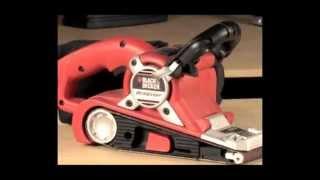 Black & Decker - Lixadeira de Cinta DS 321