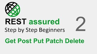 Gambar cover REST Assured API testing Beginner Tutorial | Part 2 - How to test GET POST PUT PATCH and DELETE