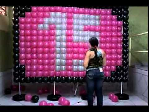 Anivers rio de 15 anos youtube for Cubre sillas para 15 anos
