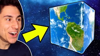 Solar Smash Has A NEW CUBE PLANET! screenshot 3
