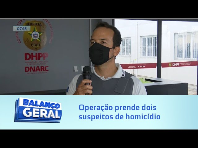 Chã de Bebedouro: Operação prende 2 suspeitos de homicídio