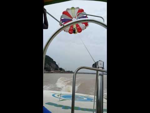 pranay parasailing vijayawada bhavani island