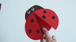 Gambar cover Marienkäferchen basteln - Basteln mit der Bastelfee