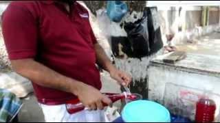 Nanari sherbet on Kutchery Road