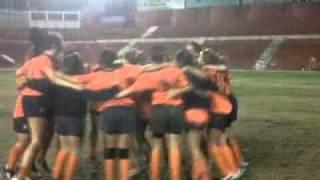 Rugby UA femenino en Murcia.