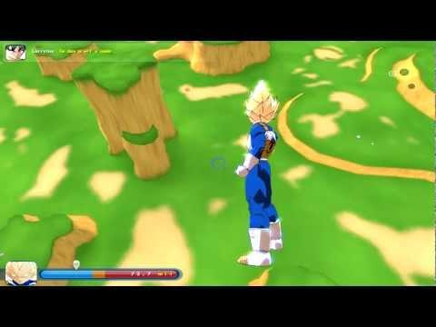 ZEQ2 Vegeta Ataques (HD)