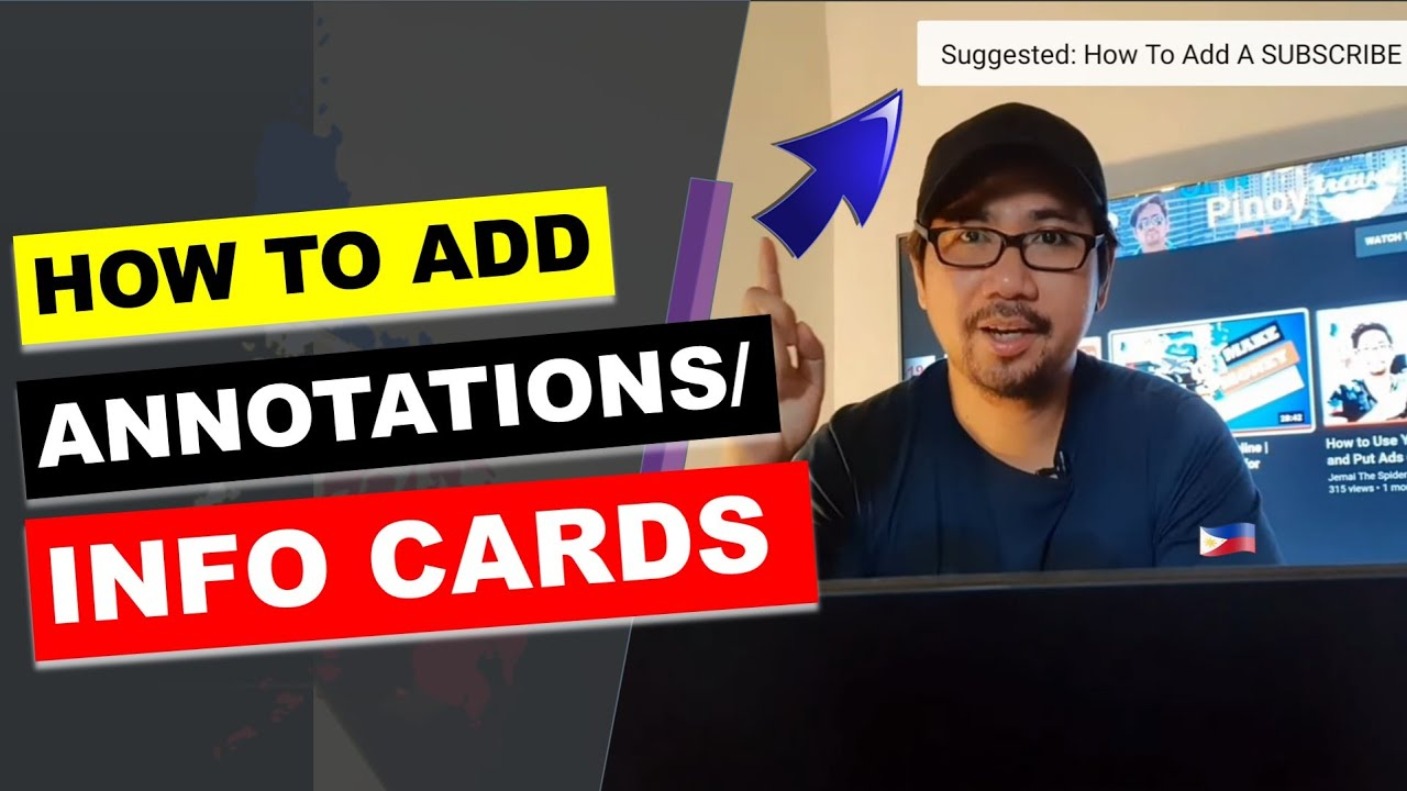 How To Add Info Cards Or Annotations To Youtube Videos 2021 Youtube