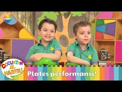 Sarp ve Kuzey'in 'Plates' performansı!