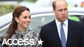 Kate Middleton Wows In Floral Number & Braids For Outing With The Queen! | Access