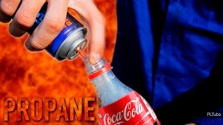 Coca-Cola + Propane = Mega Rocket