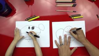 How To Draw A Bee (for super young artists)