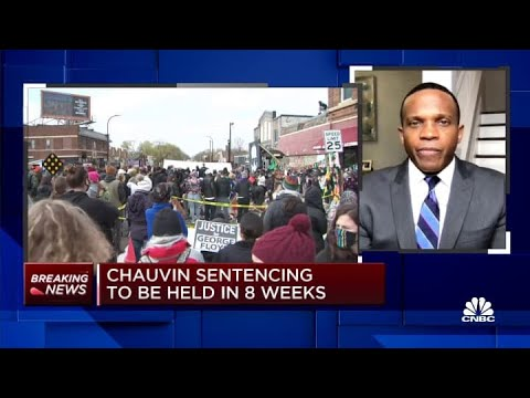 Derek Chauvin sentencing to be in 8 weeks