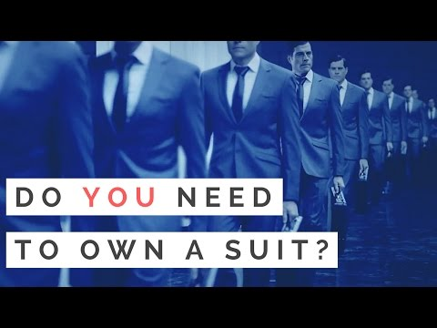 Does Every Man Need A Suit? The Importance Of Dressing To Your Lifestyle