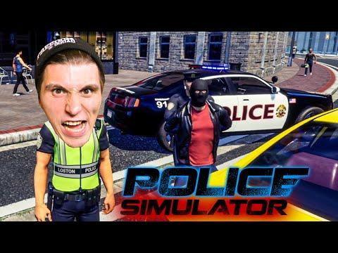 Ich VERHAFTE einen BANKRÄUBER! | Polizei Simulator