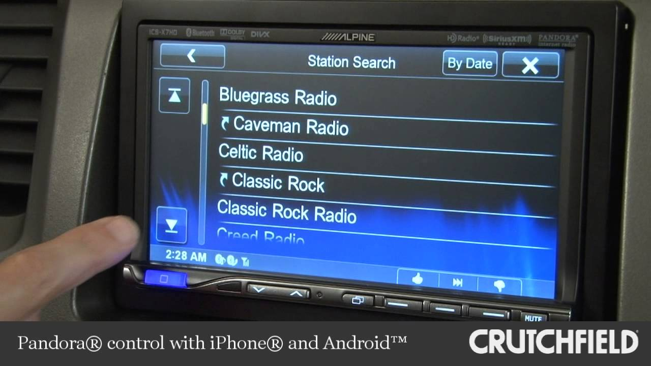 Alpine ICS-X7HD Car Digital Media Receiver Display and Controls Demo |  Crutchfield Video