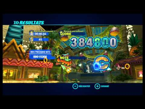 Sonic colors wii   Premiere planete