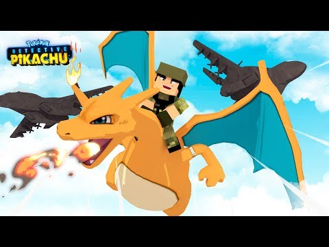 CHARIZARD FLIGHT SQUAD - DETECTIVE PIKACHU - Minecraft