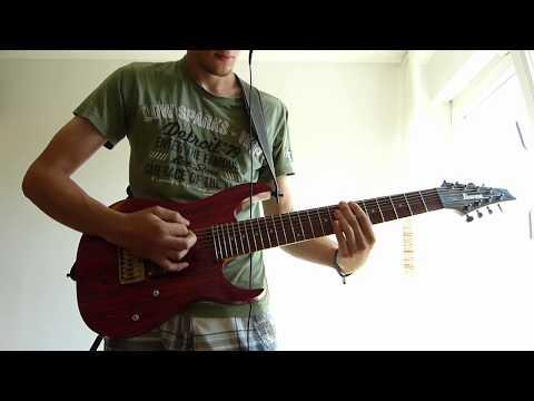 Meshuggah - Violent Sleep of Reason 2nd half (Guitar Cover)