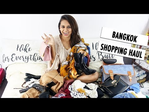 My Bangkok Shopping Haul From Platinum Mall | What When Wear