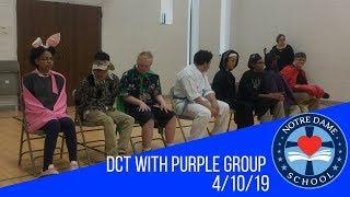 Dallas Children's Theater with Purple Group