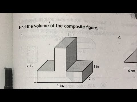 Find Volume of Composed Figures