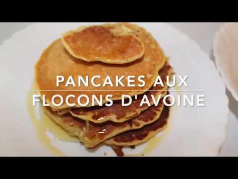 pancakes-aux-flocons-d'avoine-[-recette-healthy]-🥞🥞