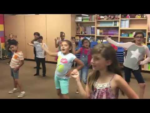 Third Graders end of day dance to Justin...