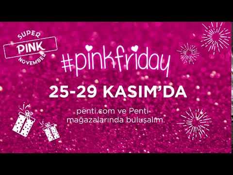 Heyecanla beklediğin #pinkfriday çok yakında başlıyor