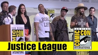 Justice League  | 2016 Comic Con Full Panel (Gal Gadot, Ben Affleck, Henry Cavill)